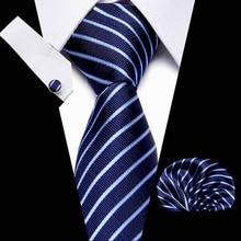 New Design Slim Tie Set for Men Floral Skinny Handkerchief Cufflink Necktie Man Corbatas Hombre Pocket Square Wedding