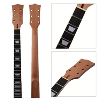 Unfinished Mahogany Guitar Neck 22 Frets Rosewood FretboardPerfect for Gibson LP Electric Guitar Luthier Tool Easy To Install
