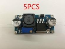 Free shipping 5Pcs/lot LM2596S LM2596 DC-DC Step-down module 5V/12V/24V adjustable Voltage regulator 3A(blue)