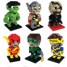 2017 New Movie Anime Cartoon Blocks Plastic Education Collection Of Fashion Gifts Toys For Children