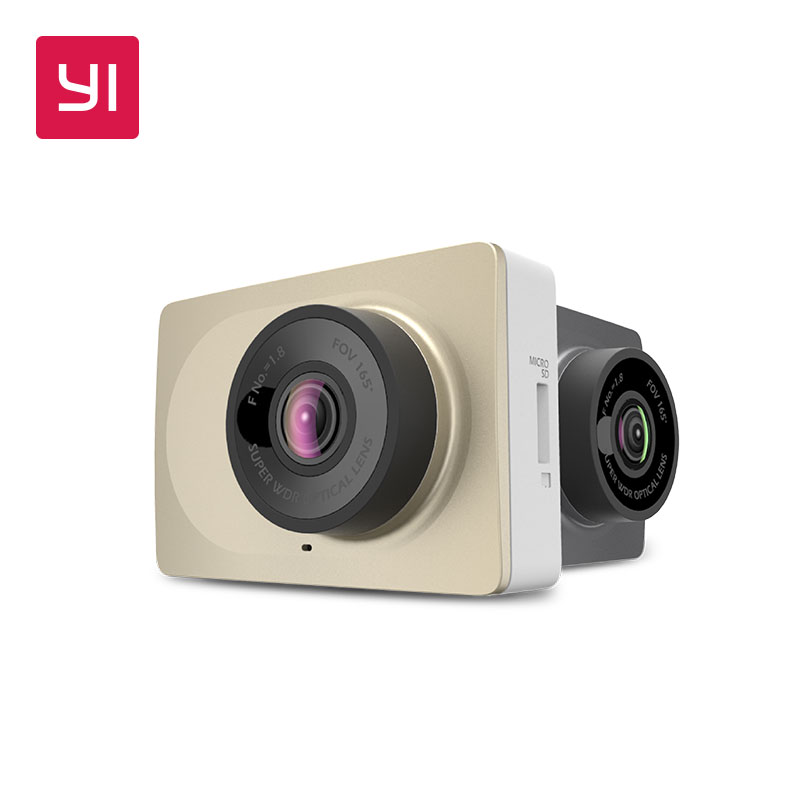 YI Dash Camera 2.7 Screen Full HD 1080P60fps 165 degree Wide-Angle Car DVR Vehicle Dash Cam with G-Sensor Night Vision ADAS full hd 1080p vehicle blackbox dvr with g sensor