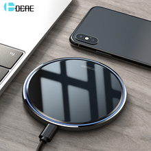 DCAE 10W Fast Qi Wireless Charger For iPhone 11 X XS Max XR 8 Quick Wireless Charging Pad For Samsung S10 S9 S8 Huawei P30 Pro