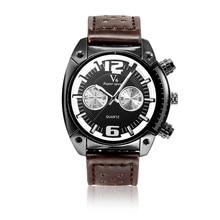 2016 V6 de Lujo Casual Hombres Relojes Analógicos Deportes Militares Reloj de Cuarzo Masculino Del Relogio masculino Montre Homme