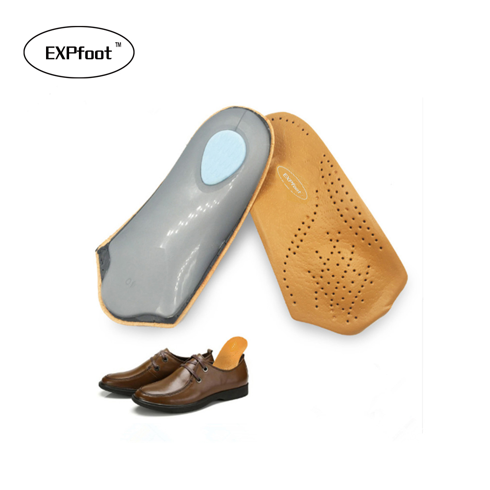 Half arch support orthopedic insoles flat foot correct 3/4 length orthotic insole feet care health orthotics insert shoe pad 445 silicone gel insoles orthotic arch pad arch support insole flat foot feet care relieve pain orthopedics insert shoe accessories