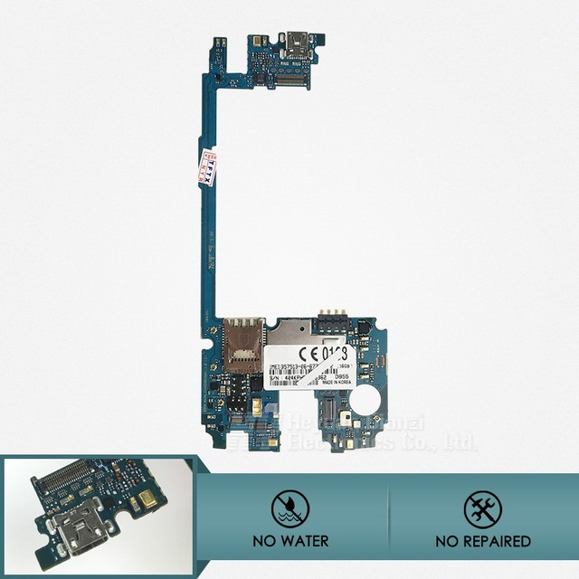 100% original no reparado buena placa madre mainboard para lg g3 d855 con chip 16 gb imei freeshipping