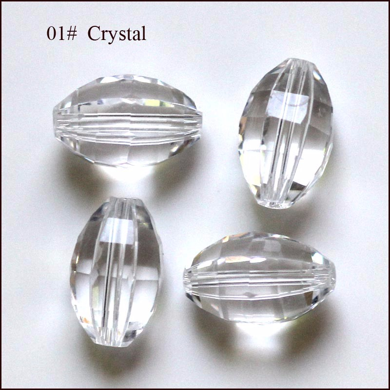 11x8mmm Czech Spacer Crystal Beads Faceted Glass Beads Diy for Jewelry Making 12 Colors Loose Beads Wholesale AAA22 in Beads from Jewelry Accessories