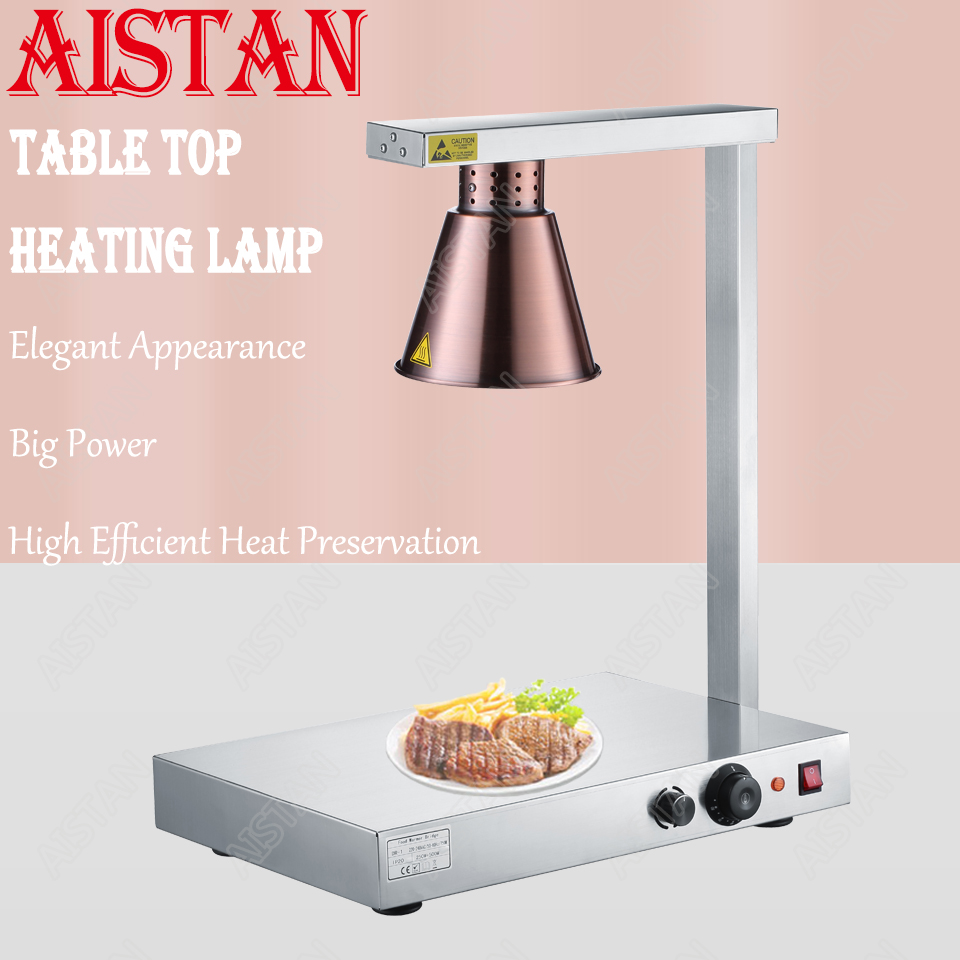 DR3/DR4 electric counter top food warmer heating lamp for buffet and restaurant 5