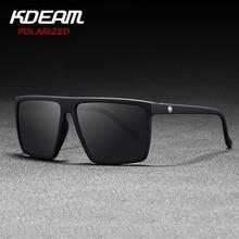 Flat top Design Square Sunglasses Unisex Polarized & UV400 lens Men party eyewea