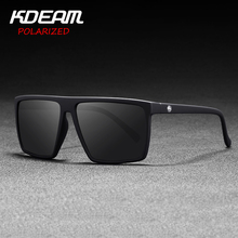 Flat top Design Square Sunglasses Unisex Polarized & UV400 l