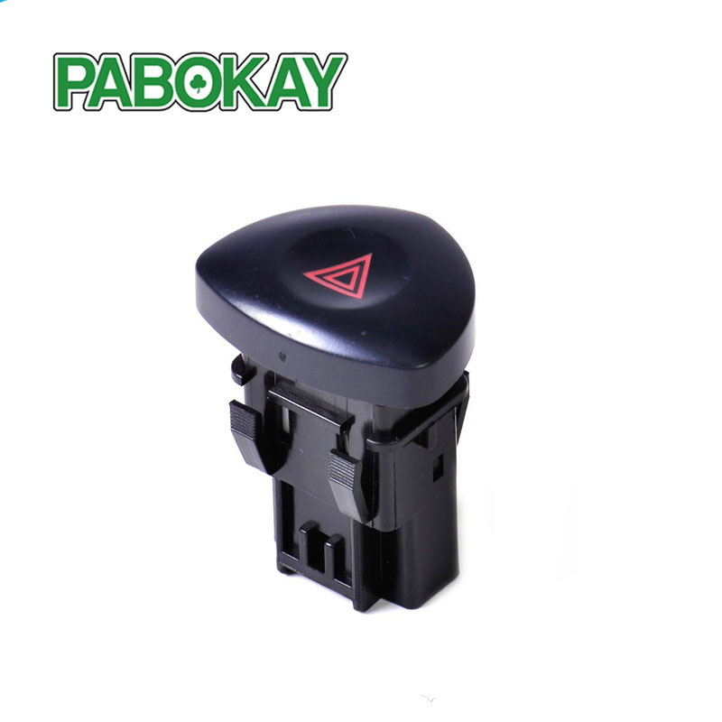 For Renault Clio MK II Hatchback Emergency Hazard Lights Warning Switch Button 8200442723 82000060036 8200634256 8200442724