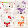 Free Shipping 30CM Cartoon Fruit KT Cat Stuffed Animal Toy Hello Kitty dolls Gift for the Child Girl's Birthday Gift