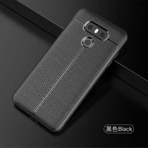 Image 5 - Wolfrule sfor caso de telefone lg g6 capa à prova de choque de couro de luxo macio tpu caso para lg g6 caso para lg g 6 h870 h873 h870ds funda]