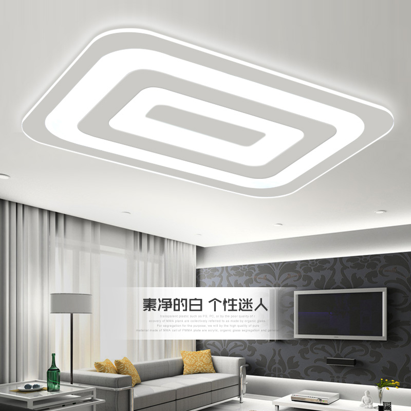 Ecolight Modern Led Ceiling Light Living Room Lights Acrylic - Decorative kitchen lamps