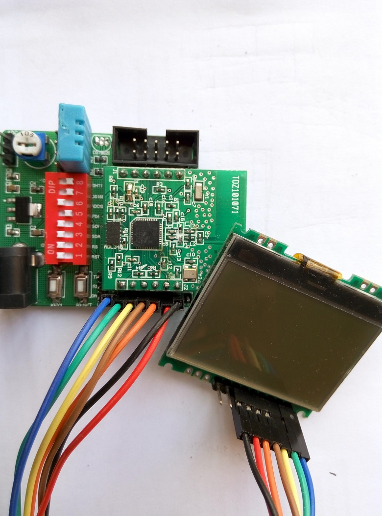 CC2530 temperature acquisition system DS18B20 based on DS18B20 temperature acquisition system