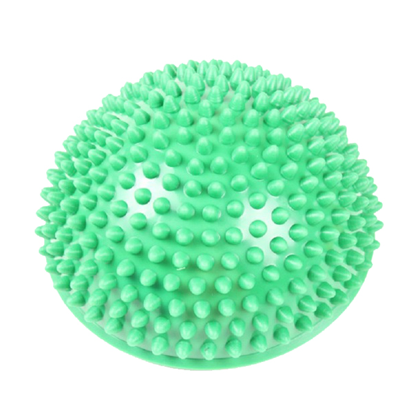 JEYL Hot Yoga half ball fitness appliance oefening massage stepping stones balance pods gym yoga pilates Green