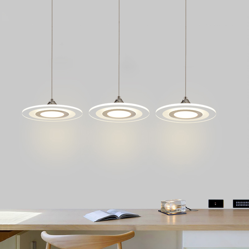 modern led pendant lights cord lamp dining room lustres 90-260v chandelier CE UL for kitchen hang fixtures MD3213