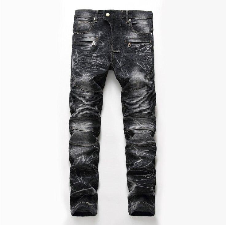 KLB Hip Hop Harem Joggers Pants Male Trousers Men Joggers Solid Multi-pocket Pants Elastic Waist Sweatpants
