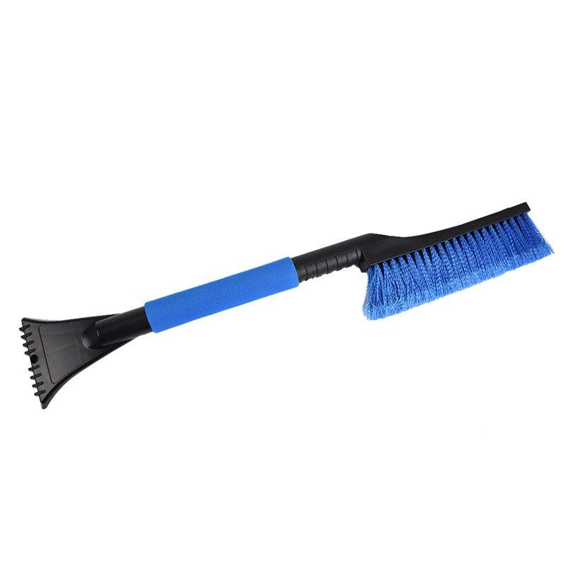 1 предмет синий автомобиль снег Скребок для льда снег Кисточки лопатой удаление Кисточки зима Одежда высшего качества ABS/ПВХ