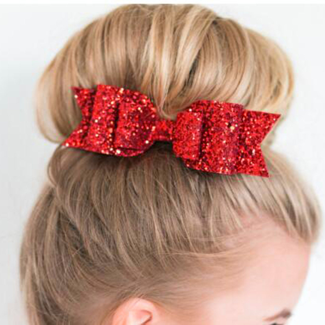 Kids Girl Big Ribbon Hair Bows Cute Hairpin Bow Tie Hair Clip Hair