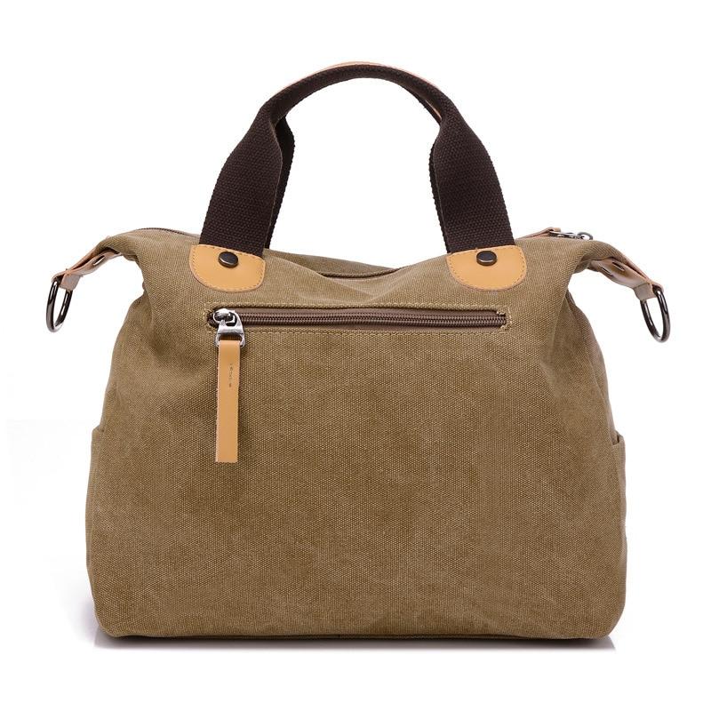 Image 3 - 新しい女性バッグキャンバスハンドバッグメッセンジャー女性のハンドバッグショルダーバッグデザイナーハンドバッグ高品質ボルサ  feminina    グループ上の スーツケース