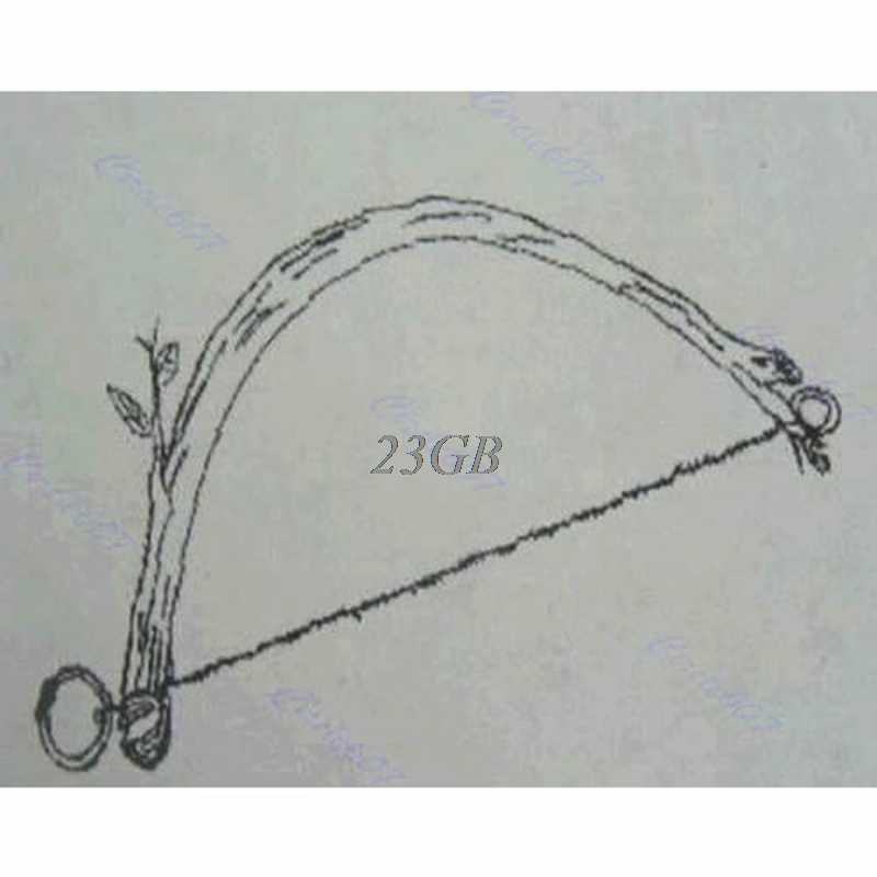 Stainless Wire Saw Hand Chain Saw Cutter Camping Hunting Outdoor Emergency Fretsaw Field Survival Tool M01