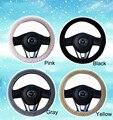 Charm Warm Long Wool Plush,cashmere car Steering Wheel Cover woolen Car Handbrake Accessory hot selling
