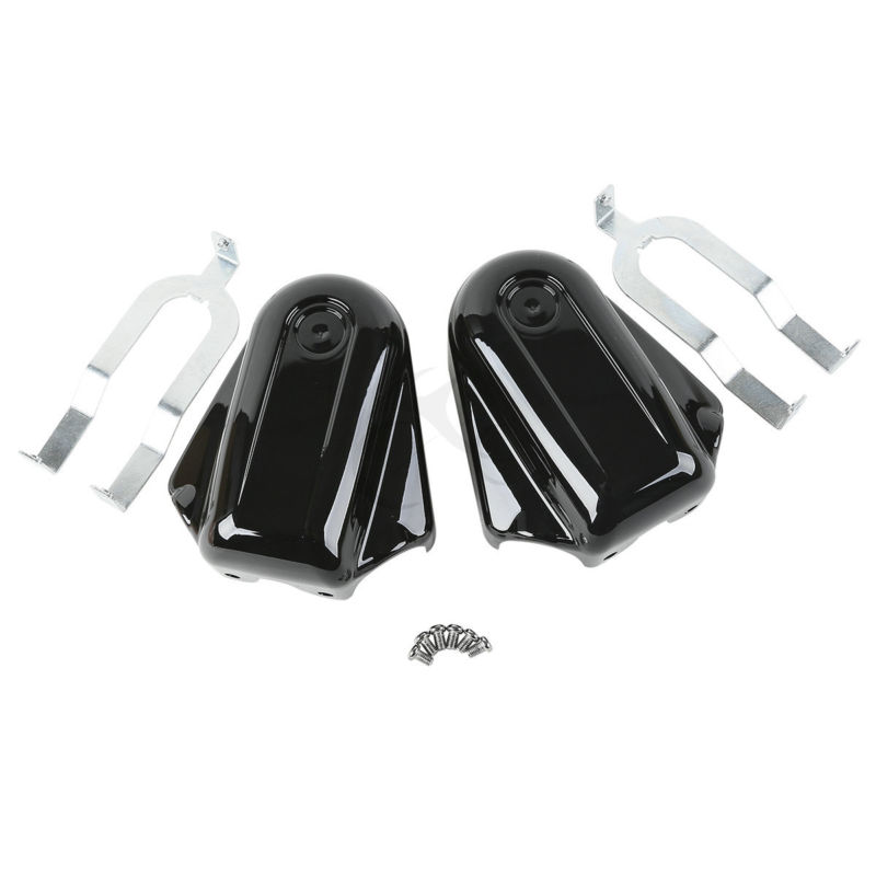 Chrome Bar & Shield Rear Axle Covers For Harley Davidson Softail Deluxe FLST Slim FLS Heritage Softail Classic FLSTC Black кулоны подвески медальоны swarovski 5349219 page 1