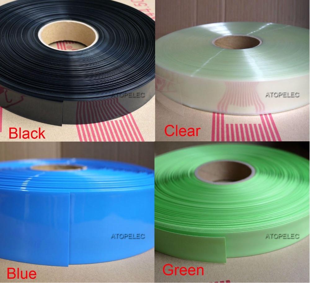Elektronik & Messtechnik Kabel & Leitungen 7mm~49mm PVC Heat Shrink Tubing Wrap Black/Blue/Red/Green/Clear/Yellow/Orange