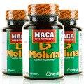 100% сушеные Перу Мака, 240 caspules секс таблетки Мака порошок корня, чисто органических перу мака афродизиак для мужчин 4 бутылок/серия