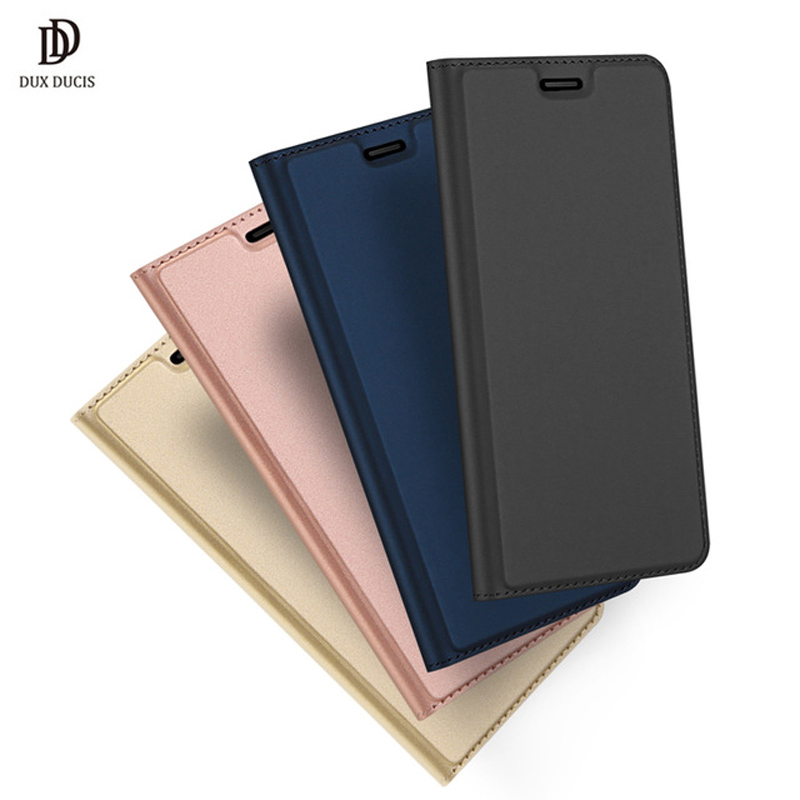 Huawei Y7 Pro 2018 Case Original Luxury Flip Leather Wallet Cover For Huawei Honor 7C Phone Case For Y7 Prime 2018 Coque Capa