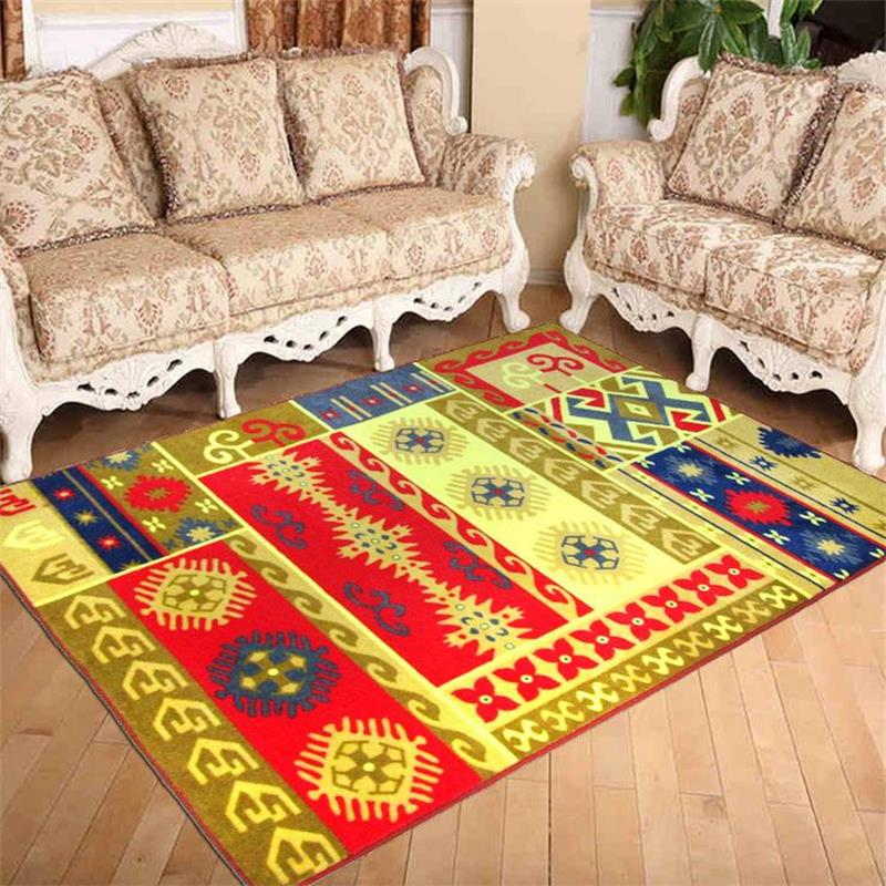 133x190cm tibetan worship carpet living room nylon rugs and