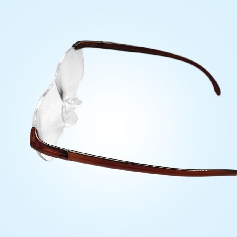 Unisex 160% Magnification Presbyopic Eyewear Magnifier Glasses  Magnifying  Glasses Portable Gift full page magnifying sheet fresnel lens 3x magnification pvc magnifier