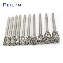 coarse grade rough grit Emergy diamond abrasive bits peeling
