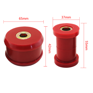 Image 3 - VR   Front Control Arm Bushing Kit FOR VW Beetle 98 06 / Golf 85 06 / Jetta 85 06 Polyurethane BLACK,RED VR CAB01