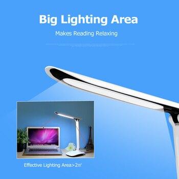 Luz De Trabajo Recargable   YAGE Lámpara De Escritorio Led Lámpara De Mesa Libro Luz De Noche Luz De Lectura Para Lámpara De Estudio Para Trabajo Brillo Sin Límite Toque On/Off