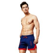Polyester Mens Tennis Shorts Navy Blue Short M XL Teenager Badminton Loose Running with Zipper Pockets