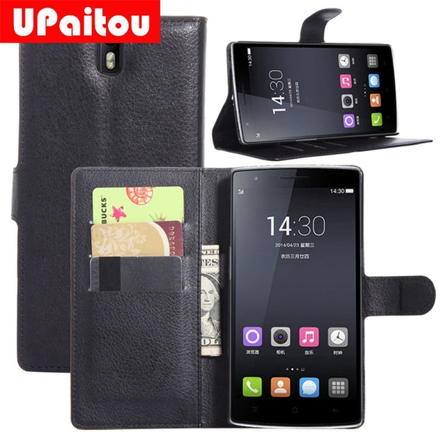 UPaitou Luxury High Quality wallet Leather Case For Oneplus A0001 One Plus One 1+ Superman Leather Case With Credit Card Holder