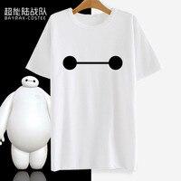 オリジナルデザイナービッグhero 6 t-shirt baymax健康執事アニメtシャツファッションメンズclothing女