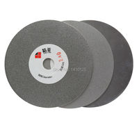 3Pcs 5 Inch 125mm Grit 240 600 1000 Electroplated Diamond Coated Flat Lap Disk Grinding Polishing