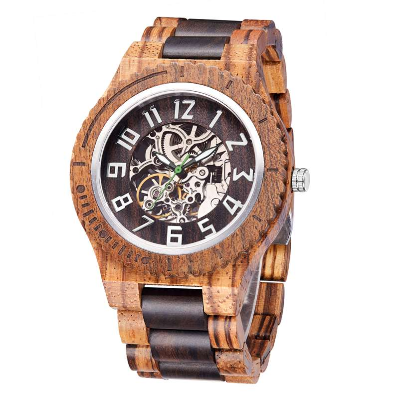 Wood Watch  Quartz Watches   Wooden   Wooden Watch  Men1- (1)