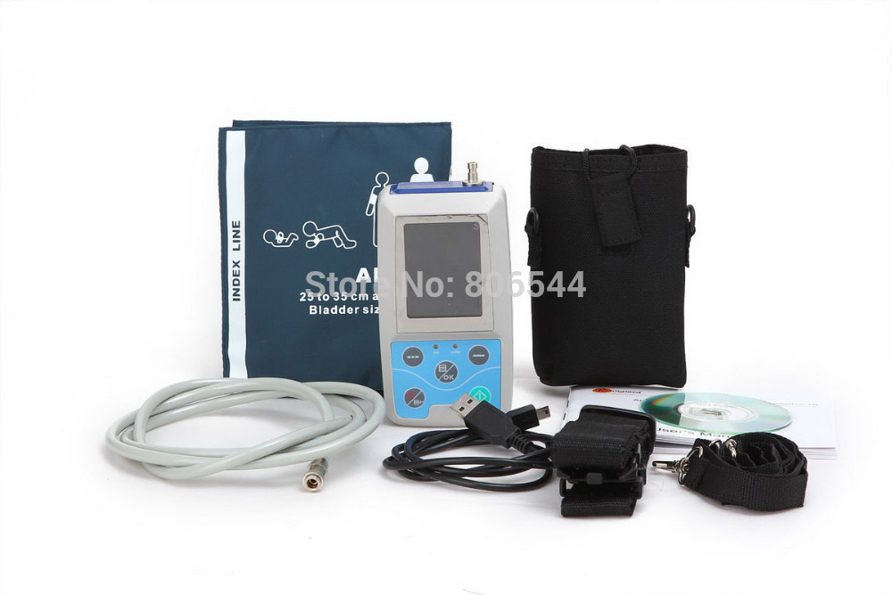Sale Free shipping Ambulatory Blood Pressure Monitor Blood Pressure Holter, ABPM50, FDA & CE approved Free Shipping!!!