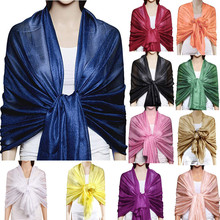 2019 Shawl Scarf HOT Women Xmas Gift Large Solid Soft Silky