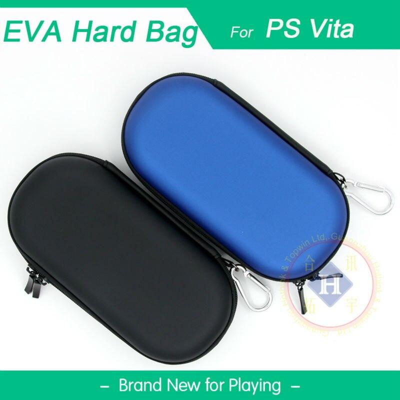 HOTHINK dur sac étui de protection EVA Pouch voyage sac shell pour PSV 1000 PSvita/PS VITA 2000 Slim console