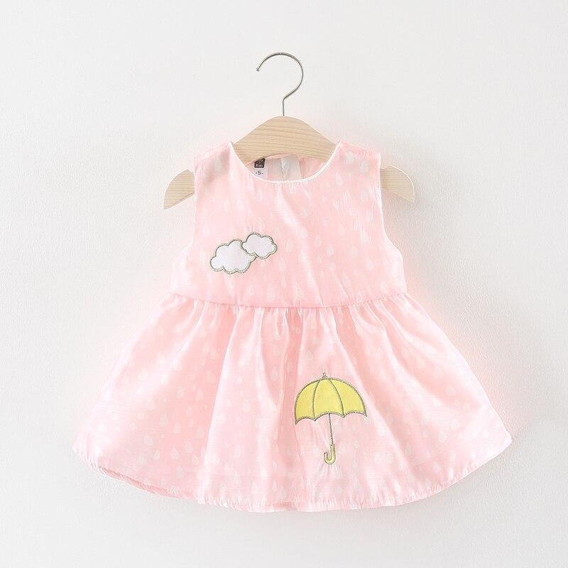 Melario Baby Girls Dress 2018 New Sunmmer Fashion Kids Dresses for Girls Children Dress Cotton Girl Dress