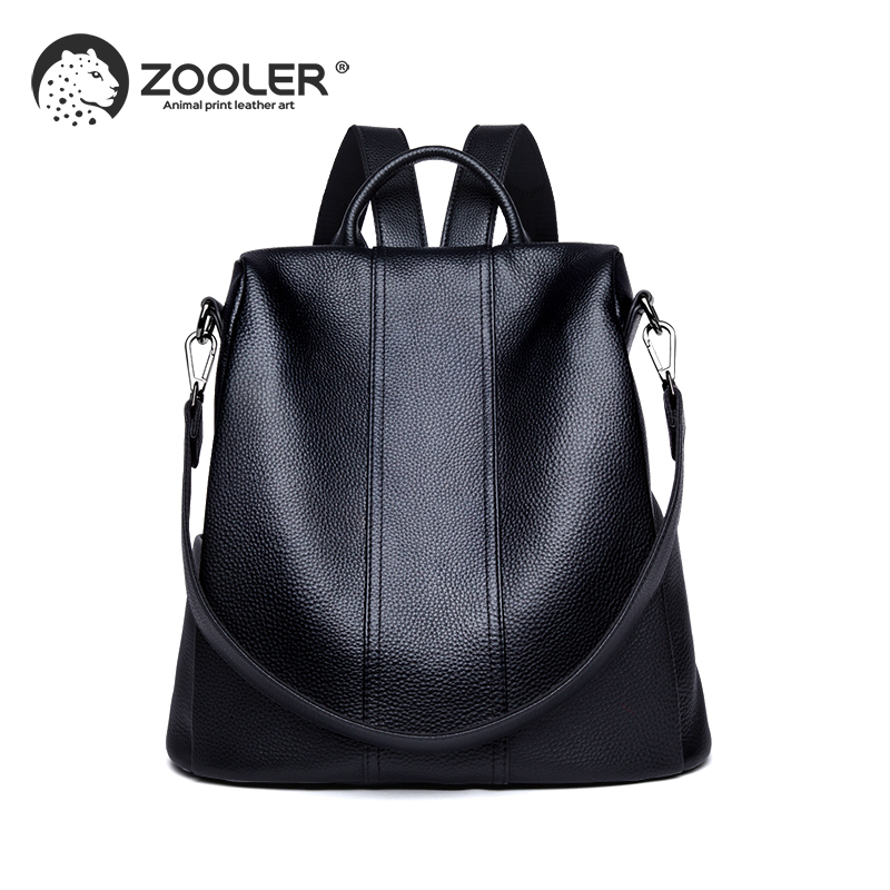 ZOOLER genuine Leather backpacks travel bags women 2019 new soft backpack for girl high quality luxury
