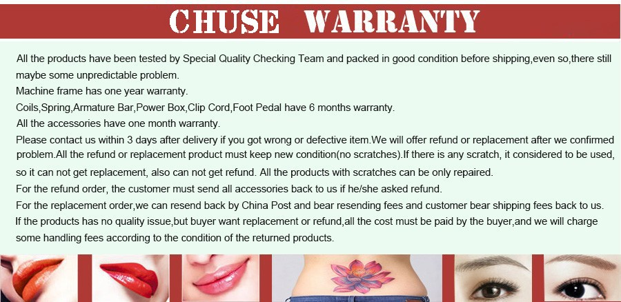 CHUSE Permanent Makeup Pigment Pro Brown Coffee Tattoo Ink Set For Eyebrow Lip Eyeliner Make Up Microblading Rotary Machine M264 19