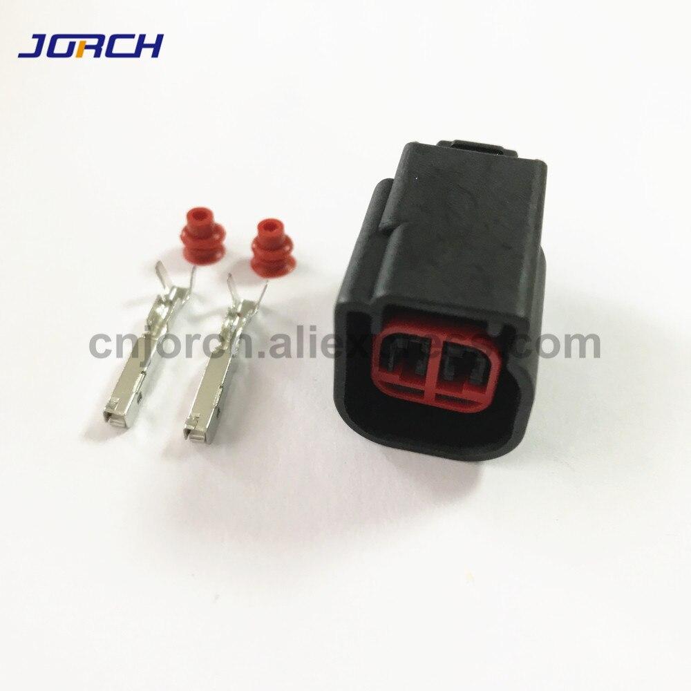 EV6 10 set Fuel Injector Plug car Waterproof 2 Pin way