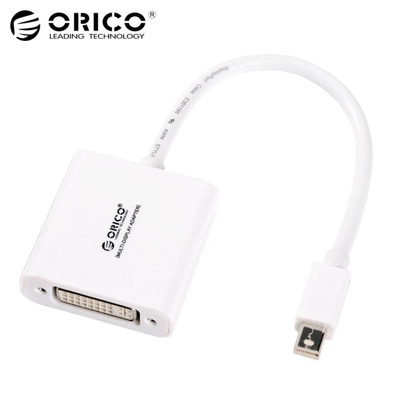 ORICO Mini Display port to DVI Converters cable converter Lightning cable adapter Projector For Apple MacBook Air Pro iMac Mac orico mini display port to dvi converters cable converter lightning cable adapter projector for apple macbook air pro imac mac
