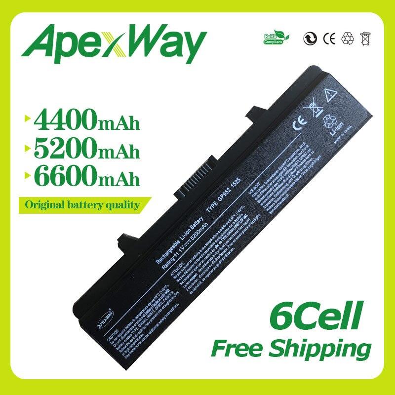 Apexway 11,1 v 6 zellen Laptop Akku für Dell Inspiron 1525 1545 1526 1546 für Vostro 500 PP29L 0RU573 0RW240 0UK716 0WK371