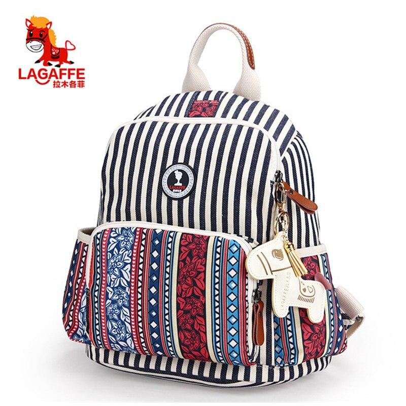 LAGAFFE 2018 Mummy Straps National style Maternity Nappy Bag Multifunction Large Capacity Travel handbag Backpack